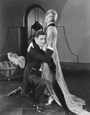 Hooray for hollywood: Ronald Colman Holding Blanche Sweet in <His Supreme Moment>