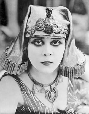 Hooray for hollywood: Theda Bara in Costume for Cleopatra