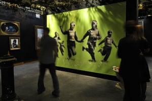Banksy at Bristol Museum: Banksy exhibition Bristol