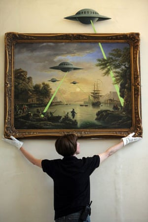 Banksy at Bristol Museum: Banksy Launches Suprise Exhibition