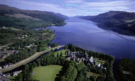 Aerial View of Fort Augustus