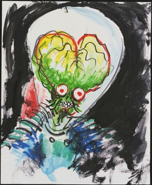 Tim Burton exhibit Moma: Mars Attacks! 1995