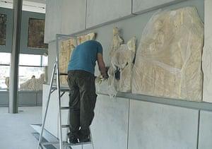 Acropolis Museum: Parthenon frieze