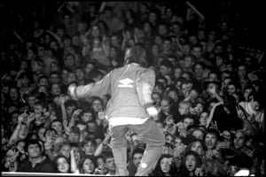Jill Furmanovsky Oasis: Oasis play Maine Road, Liam