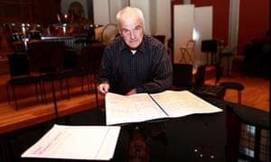 Sir Peter Maxwell Davies at the Royal Academy of Music
