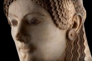 Acropolis Museum: The Peplos kore