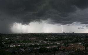 Extreme Weather: Severe weather in London, Britain - 03 Jul 2007