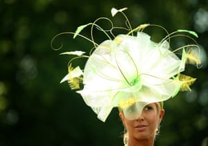 First day at Ascot: Racegoers arrive for the first day of Royal Ascot
