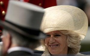 First day at Ascot: Camilla, Duchess of Cornwall