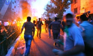 Unrest continues after Iranian presidential elections