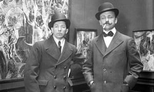 Futurists Boccioni and Marinetti