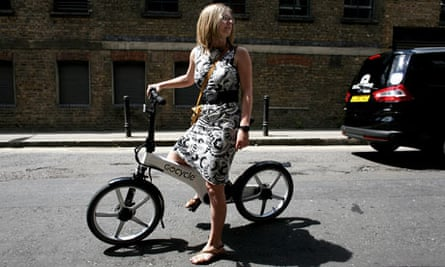 Helen Pidd tests the new Gocycle electric bicycle