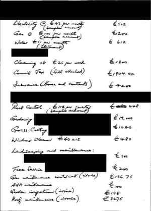 MPs' expenses receipts: Receipt from Sir Peter Viggers, MP
