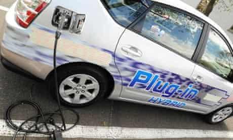 The Toyota Prius Hyrbrid vehicle