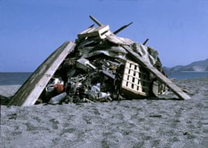 RADICAL NATURE: Hans Haacke: Monument to Beach Pollution. Radical Nature at the Barbican
