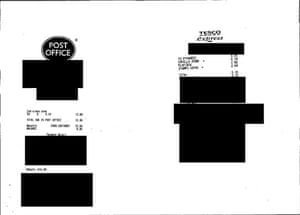 MPs' expenses receipts: Receipts submitted by Gary Streeter MP