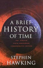 Cover, A Brief History of Time by Stephen Hawking