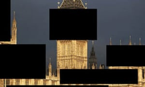 MPs' expenses scandal photomontage.