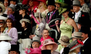 Royal Ascot: Spectators during Ladies' Day
