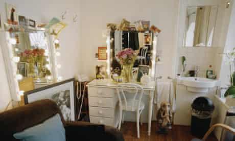 Simon Callow's dressing room at the Haymarket