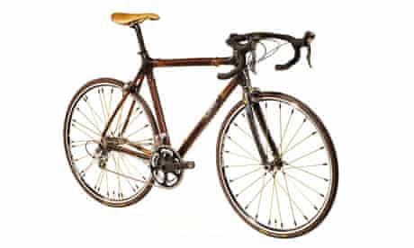 A £3,000 racing bike made from bamboo by Craig Calfee