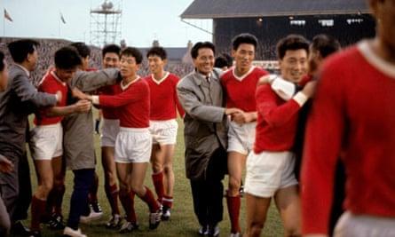World Cup England 1966 Italy v North Korea Ayresome Park