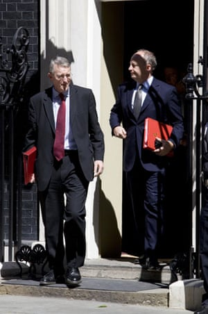 Cabinet: Hilary Benn and Lord Malloch-Brown
