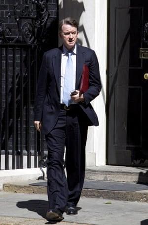Cabinet: Peter Mandelson