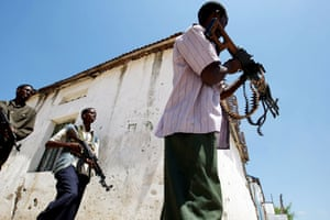 24 hours in pictures: Somali government soldiers Mogadishu