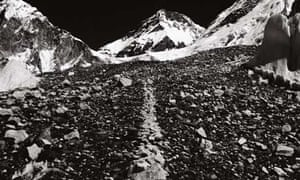 A Line in the Himalayas by Richard Long
