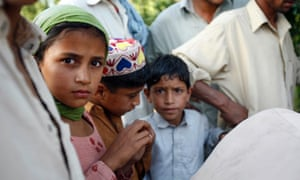 Children in Manyar, Swat Valley