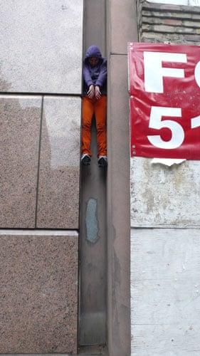 Willi Dorner's Bodies: Willi Dorner's Bodies In Urban Spaces: Austin, USA