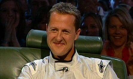 Michael Schumacher as the Stig