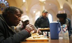 The Holy Apostles soup kitchen in New York City