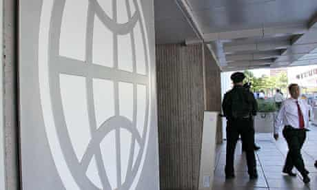 The World Bank building in Washington