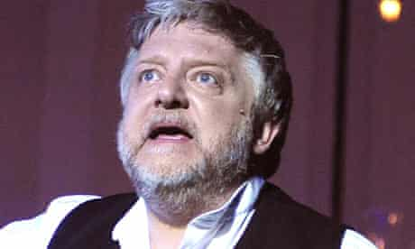 Simon Russell Beale as Leontes in The Winter's Tale at the Old Vic