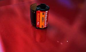 A roll of Kodachrome 35mm film.
