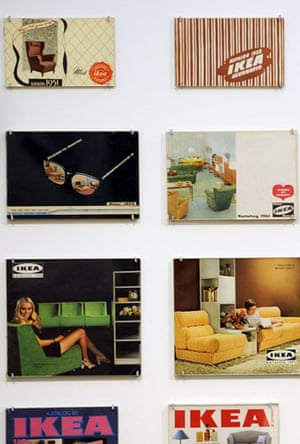 Ikea: Old pages of Ikea catalogues