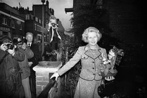 Margaret Thatcher: 1975: Margaret Thatcher's first day as leader of the Conservative party