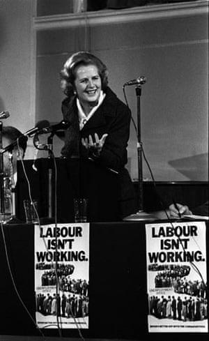 Margaret Thatcher: 1979: Labour Isn't Working. Margaret Thatcher speaks