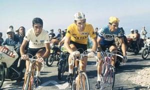 The tour de France scales mont verdoux 13 July 1972