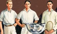 The first Davis Cup team