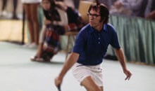 Bobby Riggs in the Battle of the Sexes Challenge Match