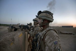 Sean Smith Black Watch: Soldiers from B Company, The Black Watch at FOB Wahid, Helmand Province