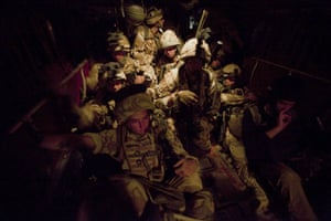 Sean Smith Black Watch: British soldiers on an air assault to establish FOB Wahid