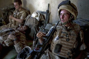 Sean Smith Black Watch: 20 June 2009: Soldiers at FOB Wahid