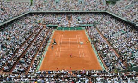 Roland Garros clay court