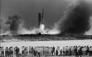 Apollo 11: Apollo Spacecraft Taking Off