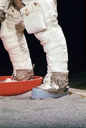 Apollo 11 to the Moon: Armstrong during EVA training