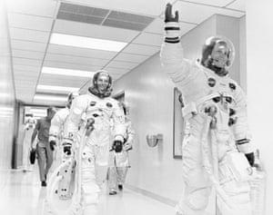 Apollo 11 to the Moon: Neil A. Armstrong, waving